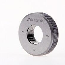 Изысканные резьбовой калибр-кольцо M33 * 3-M42*1,5 M50 * 1,5 Точность 6g