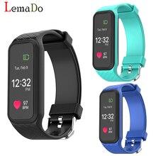 LEMADO L38I Bluetooth Умный Браслет Динамический монитор Сердечного Ритма Смарт-Браслет для IOS Android Смартфон