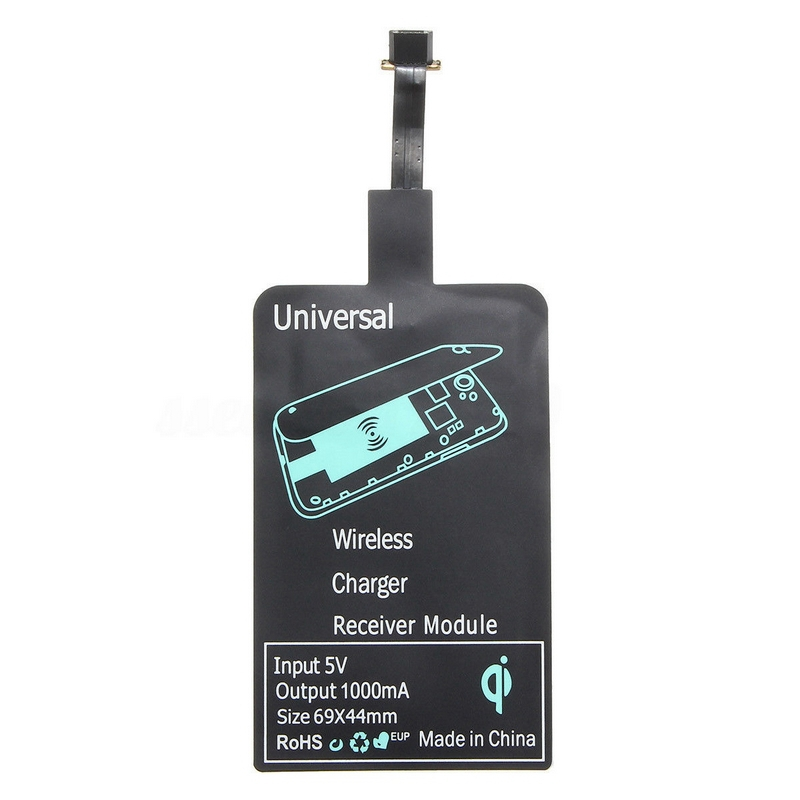 Universal Type A B QI Wireless Charging Charger Receiver Pad Coil Adapter Receptor For THL OnePlus Honor Micro USB Mobile