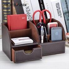 Рокки кофе зерна коричневый кожаный стол рабочего стола хранения хранения современный корея творческих канцелярских