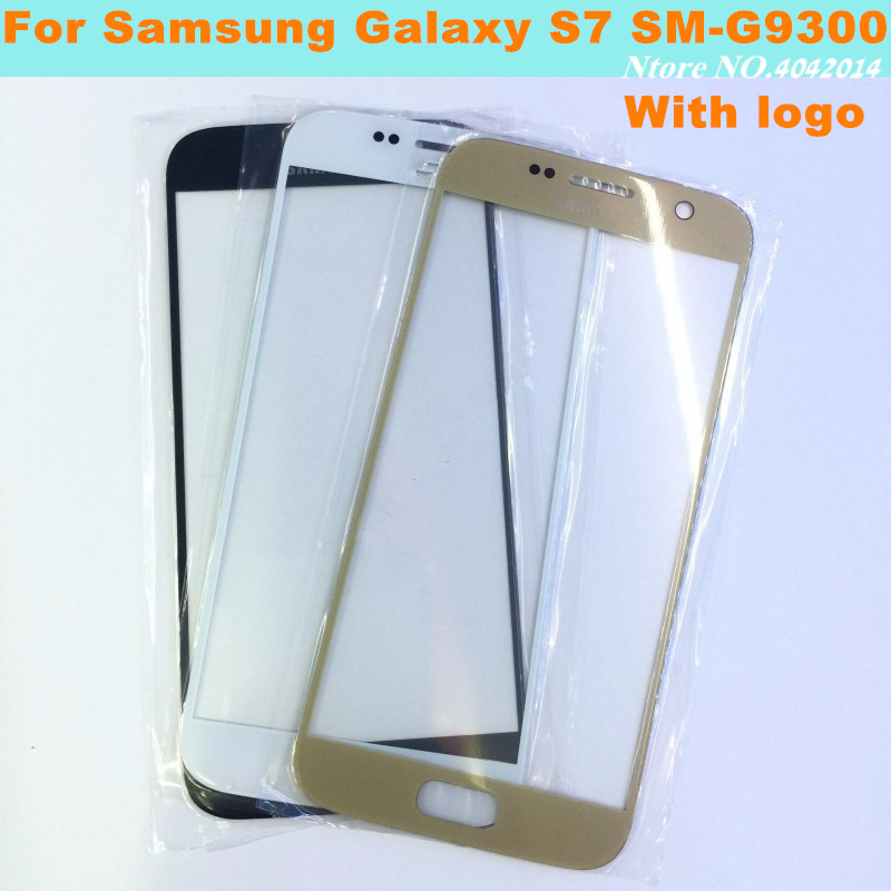 MIXUEWEIQI New Original Outer Screen Front Glass Cover LCD Touch Lens For Samsung Galaxy S7 SM-G9300 Replacement Parts