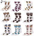 Cotton Terry Bottom Calcetines Deporte 40 Bottle Pig Police Novelty Socks USA 40 Shorts Skate Socks  For Women