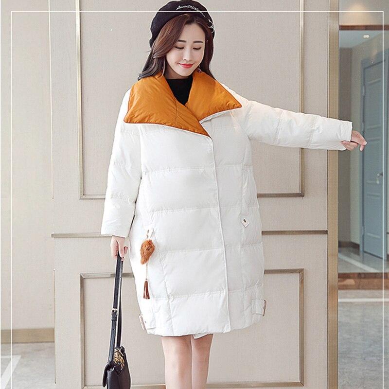 2018 Europe Matelassé White Hiver Streetwear Bas En Longues 2654 Parkas Femmes Manteau gray Pardessus Vers Veste Coton Femme Le Épais Chaud Vestes Surdimensionné ZZfrC1WwqP