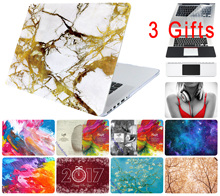 Marble Hard Brain Stars Painting Case for Macbook Air Pro 11 12 13 15 Retina Colors Texture Laptop Cover Protective Shell