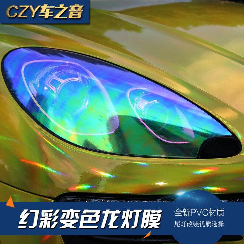 Motoryzacja Folia Kameleon Dekoracyjne światła
