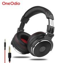 Oneodio Bedrade Professionele Studio Pro Dj Hoofdtelefoon Met Microfoon Over Ear Hifi Monitor Muziek Headset Oortelefoon Voor Telefoon Pc
