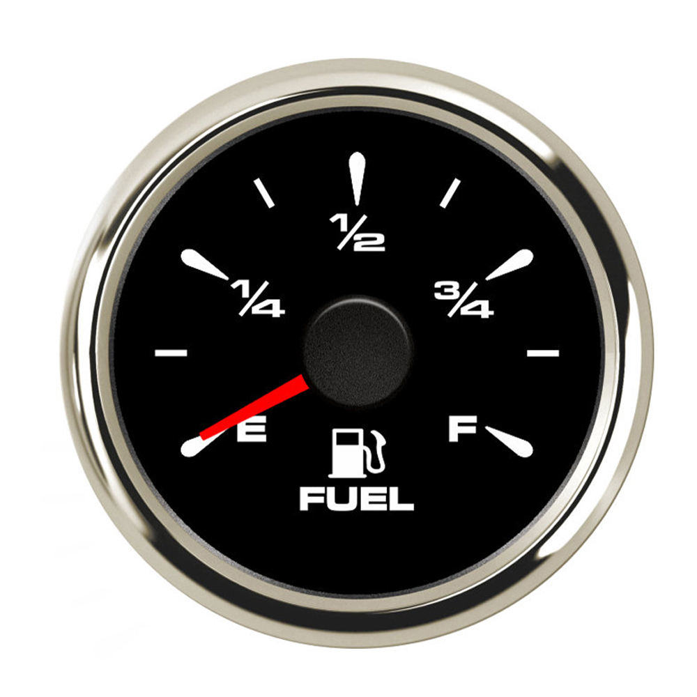 52mm Fuel Level Gauge 0~190ohm Fuel Gauge Waterproof Fuel Level Indicator For Car Boat With Backlight