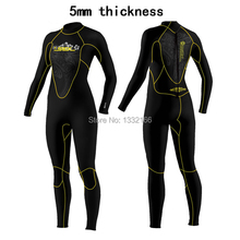 Free shipping SLINX 5mm SCR Women or men 100 Neoprene Wetsuit for Diving font b Swimming