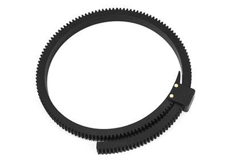 Flexible Follow Focus Gear Driven Ring Belt DSLR Lenses for 15mm rod support all DSLR cameras video cameras