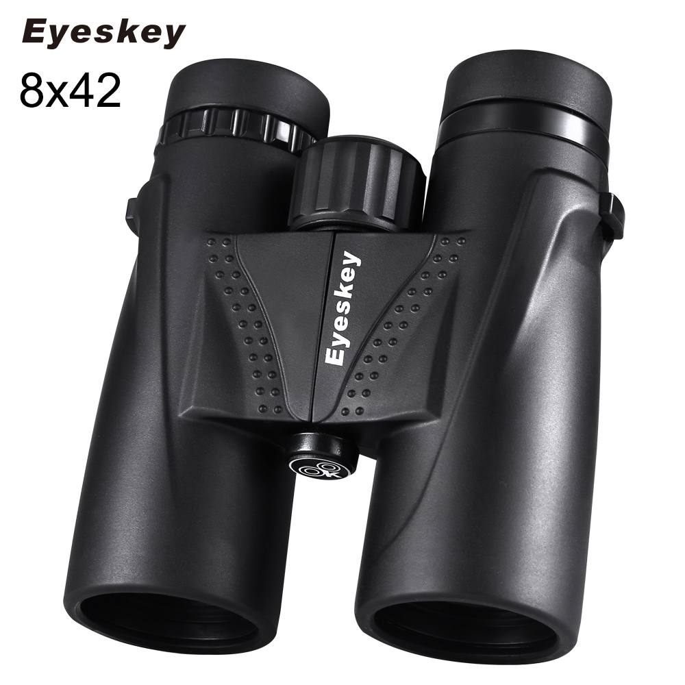 Hunting Binoculars 8x42 Eyeskey Binoculars Waterproof Telescope Bak4 Prism Camping Hunting Scopes with Neck Strap Non-slipHunting Binoculars 8x42 Eyeskey Binoculars Waterproof Telescope Bak4 Prism Camping Hunting Scopes with Neck Strap Non-slip