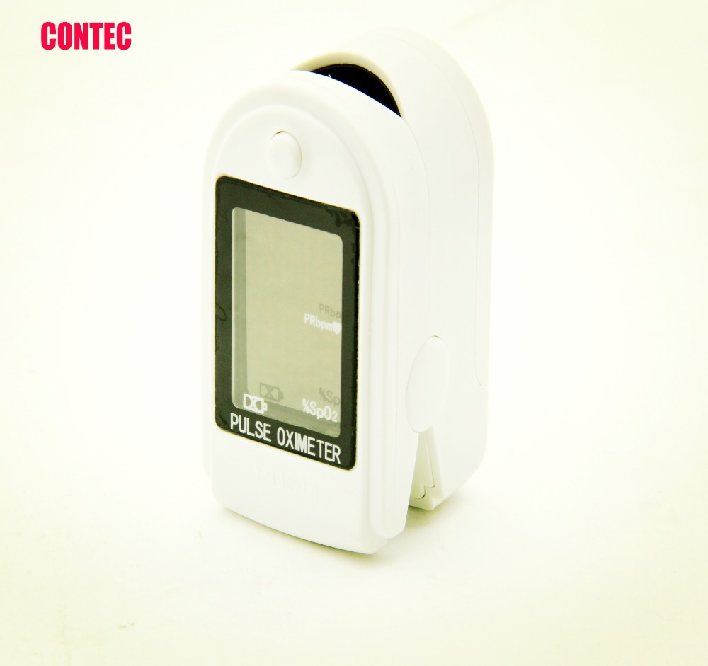 CONTEC CMS50DL CE FAD FINGERTIP OXIMETER PULSE OX SpO2 COLOR OLED DISPLAY USA STOCK FREE SHIP