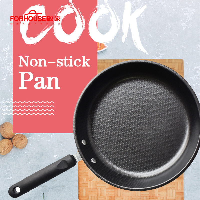 25cm Non-stick Frying Pan Skillets Cooking Pot Cake Pans for Induction Cooker Wok No Cover Сковорода