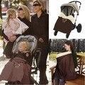 Carrinho de bebê pé muff quente Infantil buggy tampa do pé Crianças dormindo saco Do Bebê saco de dormir para carrinho de criança à prova de Vento