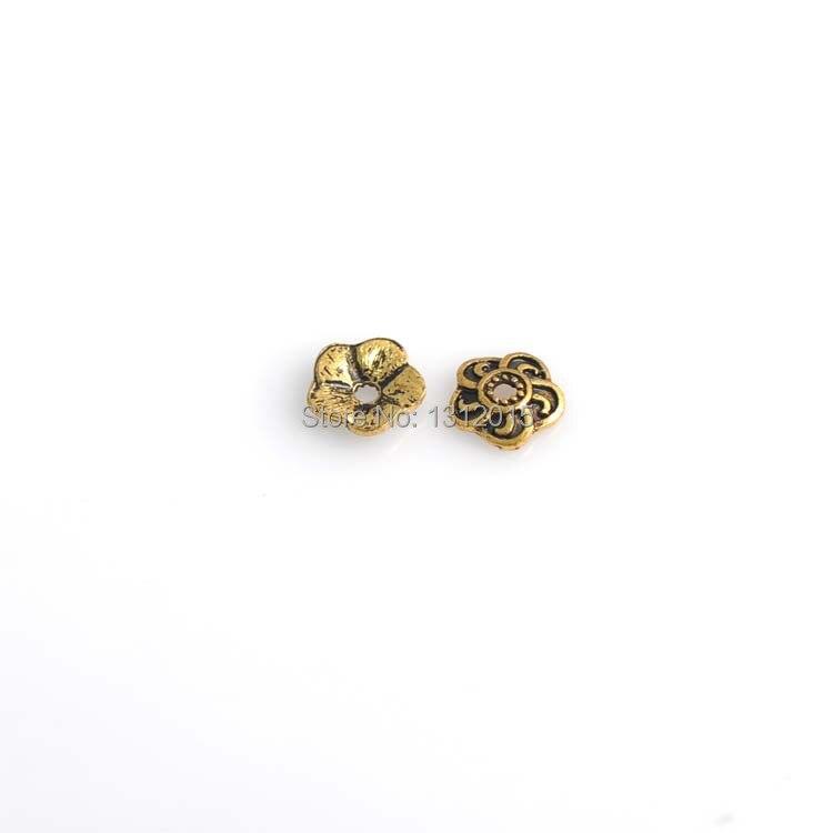 Aliexpresscom Buy Wholesale Beads Flower Torus Antique Gold