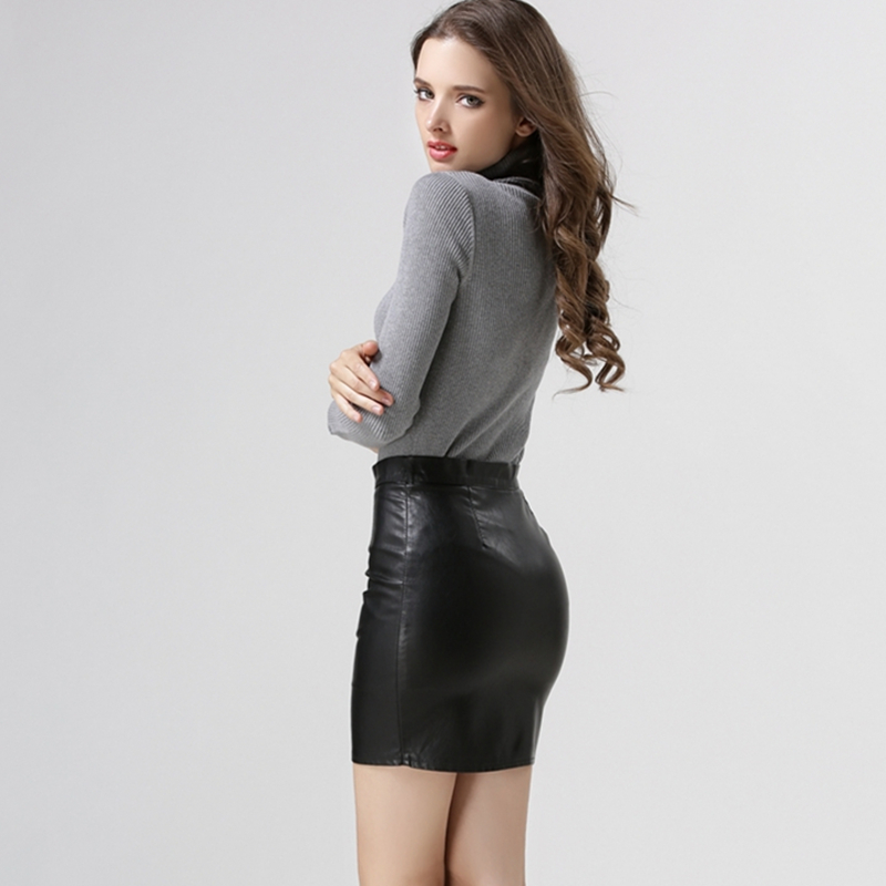 Popular Mini Skirt in Leather-Buy Cheap Mini Skirt in Leather lots ...