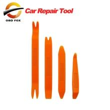 4Pcs Plastic Car Radio Door Clip Panel Trim Dash Audio Removal Pry Tool Repairing 1VUY 1 set free shipping