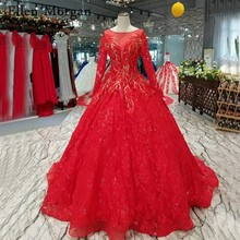 Buy red corset wedding dresses and get free shipping on AliExpress.com