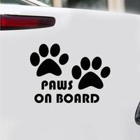 Cute Dog Paw Reflective Car Truck Vehicle Body Window Decals Sticker Decoration 1