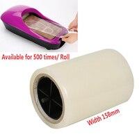 Peças de reposição! Um pedaço de filme de cobertura de sapato automático dispenser especial filme de sapato! Disponível para 500 vezes