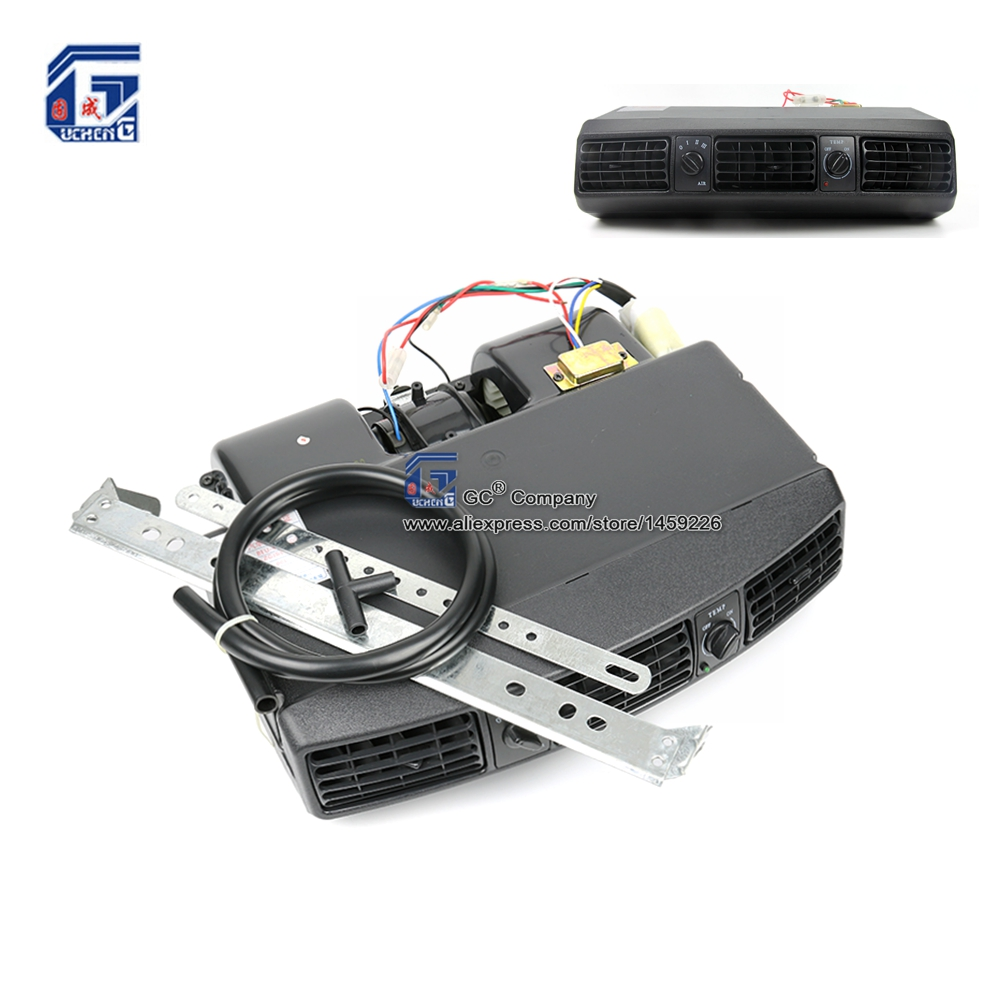 Универсальный Добавить-на панели приборов 12В 24В кондиционера воздуха конденсатора сборки устройства для классический автомобиль