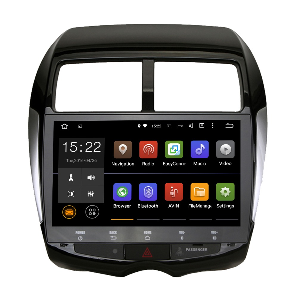 10 2 car 2 din android 5 1 1 car gps for mitsubishi asx. Black Bedroom Furniture Sets. Home Design Ideas
