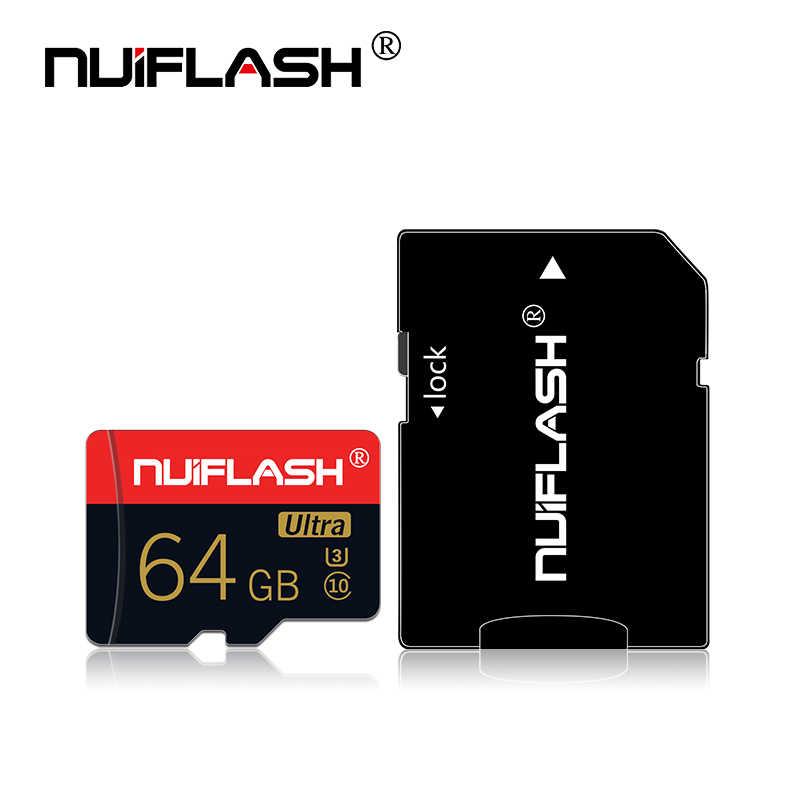 Nuiflash メモリカード 32 64 128 ギガバイトのマイクロ SD 128 ギガバイト 32 ギガバイト 64 ギガバイト 256 ギガバイト 512 ギガバイトのマイクロ SD カード SD/TF フラッシュカード microSD アラカルト電話