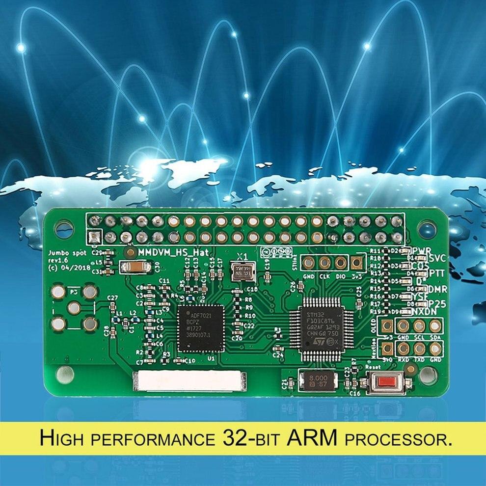 Récepteur de Signal professionnel pièces sans écran et boîtier MMDVM Hotspot Support P25 DMR YSF pour Raspberry Pi + antenne