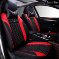 New arrivals Luxury pu Leather car Seat Cover universal car seat covers for passat Whole Surrounded Car Seat cushion