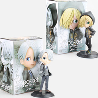 Yuri On Ice Yuri Plisetcky Victor Nikiforov Prince Cute PVC Action Figures Doll Resin Collection Model