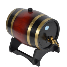 5L High-end Oak Barrel for Wine and Beer
