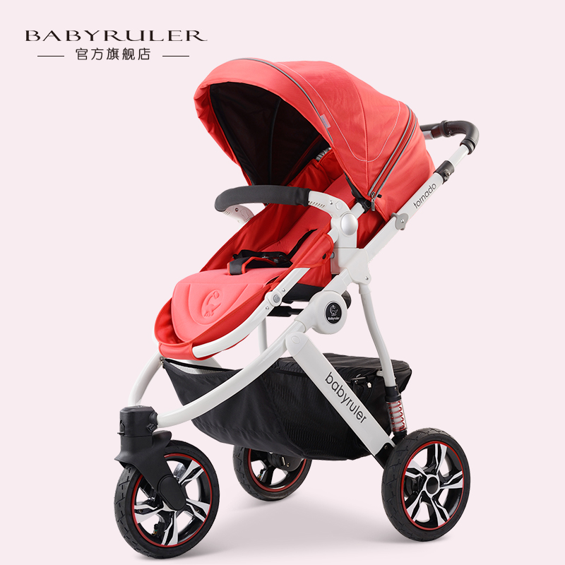 Babyruler baby car suspension light baby stroller baby stroller baby цены онлайн