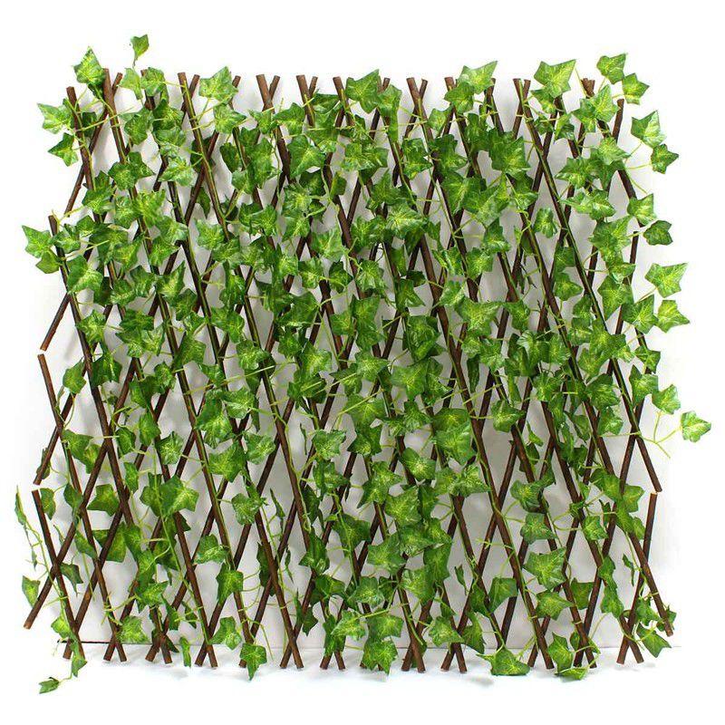 ebd2918301d8a New Extension Type Garden Buildings Fence Artificial Green Leaf Branch  Bucolic Mula Net Wooden Home Restaurants
