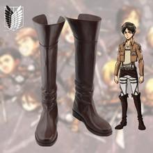 Anime Shingeki no Kyojin Shoes Attack on Titan Cosplay Boots