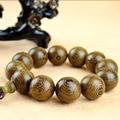 3 styles 20mm famous brand Wenge Prayer Beads Tibetan Buddhist Mala Buddha Bracelet Rosary Wooden Bangle Jewelry boyfriend gift