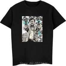 Los Narcos Pablo Escobar T camisa de los hombres hombre verano Casual  Hipster botín camiseta divertida novedad camisetas camiset. 988ad7b3084