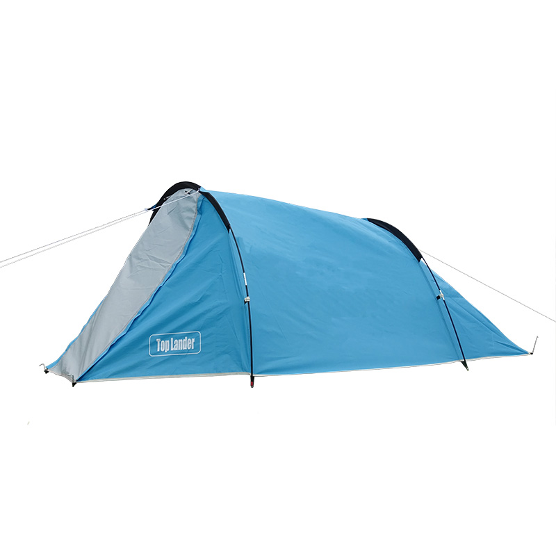 Outdoor Hiking Camping Tent 2 Person Tunnel Tents Double Layers Tent for Two persons Waterproof Camping Tent