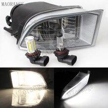Mzorange передних противотуманных фар галогенные/светодио дный Туман лампа для Toyota PRADO 120 2700/4000 для Land Cruiser LC120 2002-2009 левый и правый