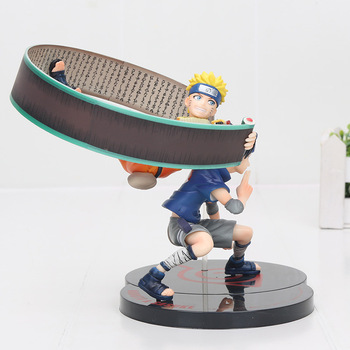 Figura de Naruto Uzumaki y Sasuke Uchiha de Naruto (18cm) Figuras de Naruto Merchandising de Naruto