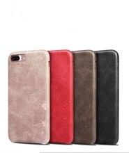 Кожаный чехол для телефона iPhone 6 6 S 7 7 плюс роскошный Специальные Чехлы Ретро кожа сотовый телефон цвет: черный, Синий Мягкий Назад Чехол