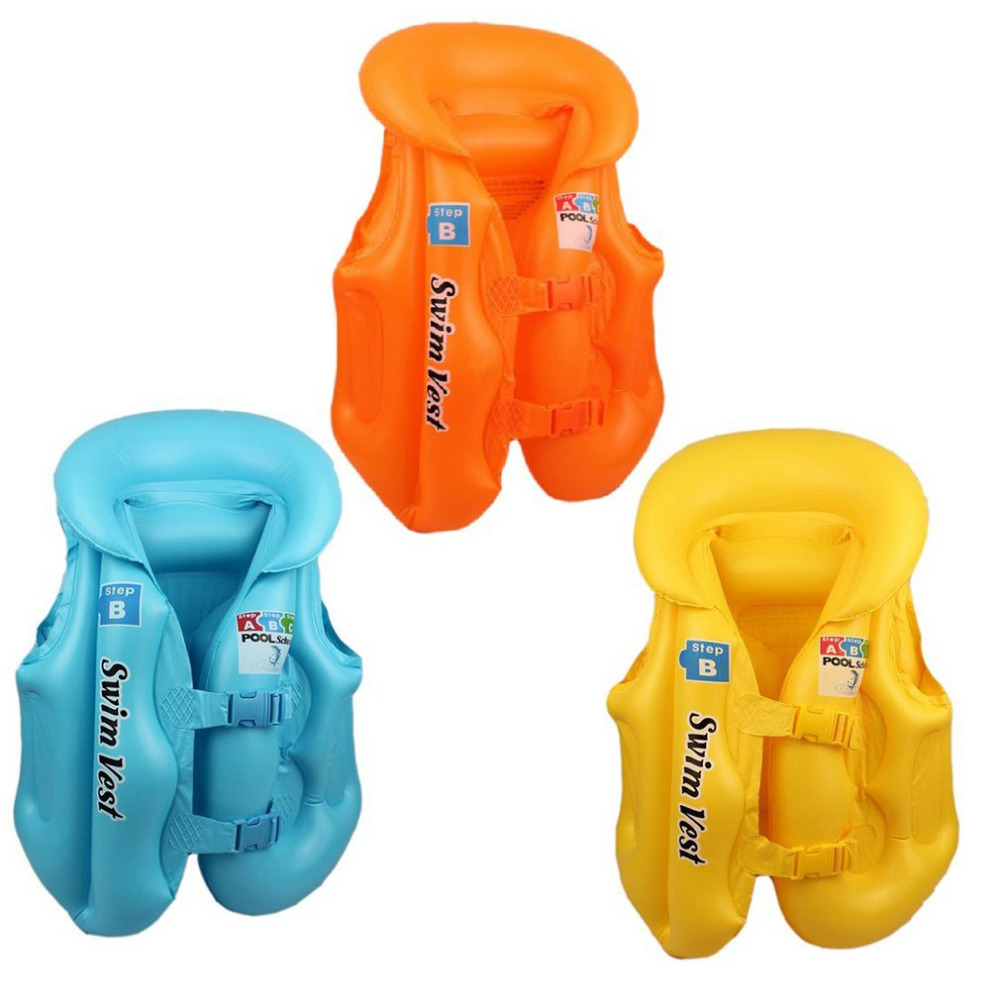 S M L Summer Baby Safety Ride-On Swimming Buoyancy Vest Toys Kids Pool Rafts Float Swim Inflatable Tube Life Jacket Babies Toys