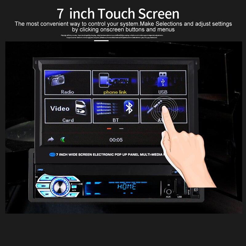 Autoradio Retractable Screen (1)