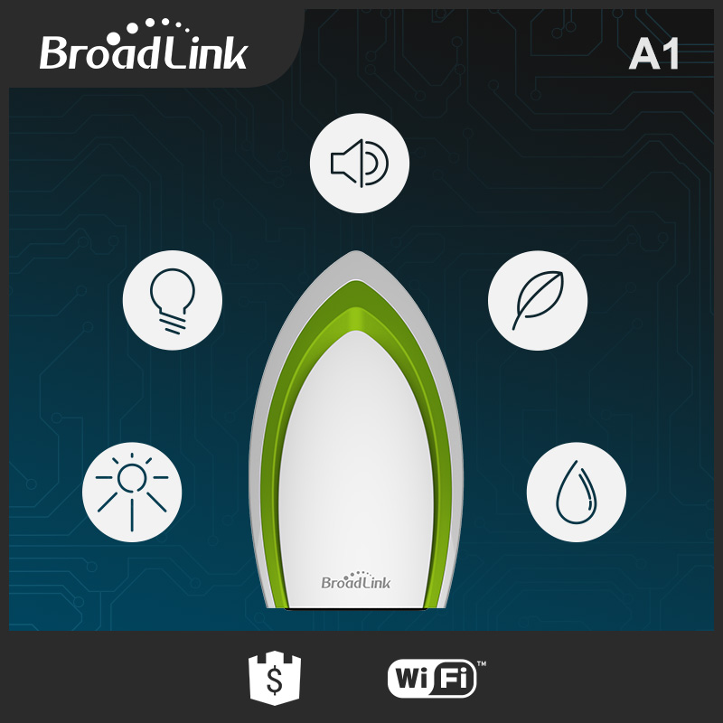 Broadlink A1 E-Air Air Quality Detector Testing,Intelligent Infrared WiFi Remote Control Temperature Humidity PM2.5 Smart Home 9999ppm carbon dioxide co2 monitor detector air temperature humidity logger