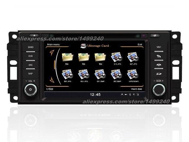 For Chrysler 200 2010 2013 Car GPS Navigation DVD Player Radio Stereo TV BT iPod 3G