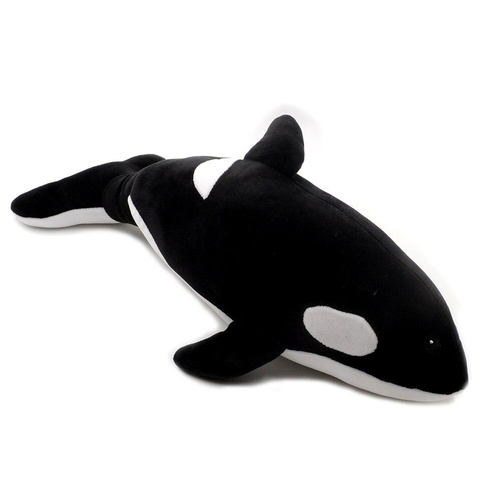 1pc 40cm Killer Whale Doll Plush Toy Soft Stuffed Pillow Cushion Sea Animal Creature Cartoon Child Ocean Cute Gift