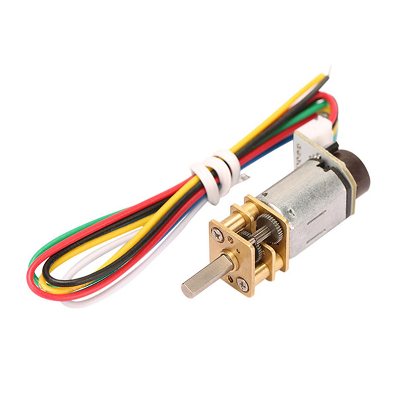 DC6V 90RPM N20 Encoder Motor Reducer Gear Motor DC Gear Motor Miniature Motor n20 dc gear motor miniature high torque electric gear box motor