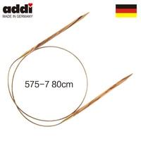 Addi 80 cm Circular Knitting Needles Olive wood 575 7