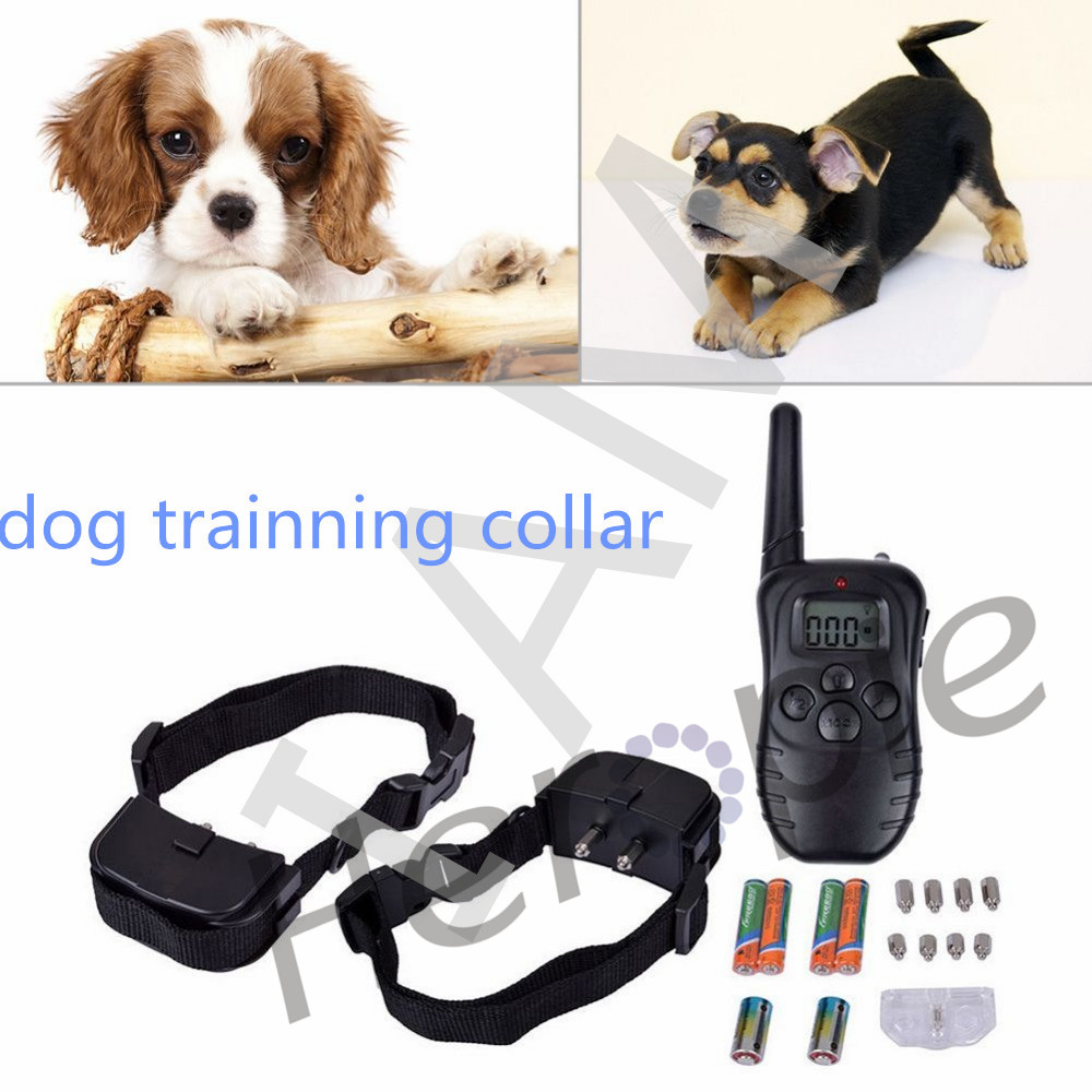 300M-Waterproof-Dog-Training-Behaviour-Aids-LCD-100LV-Yard-Level-Electric-Shock-Vibration-Remote-Pet-Dog (1)