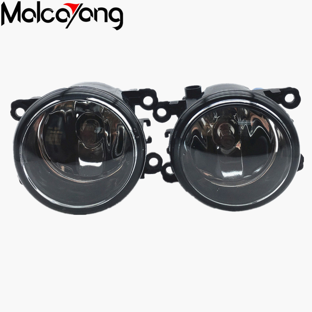 2 Pcs/Set 35500-63J02 8200074008 For Renault SCENIC 2 2003-2015 Front Fog Lamps Fog Lights Halogen Car Styling