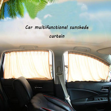 2pcs Car sunshade Alloy Side Window Sunshade Curtains Windshield Sun Visor Blinds Cover car-styling S,M,L