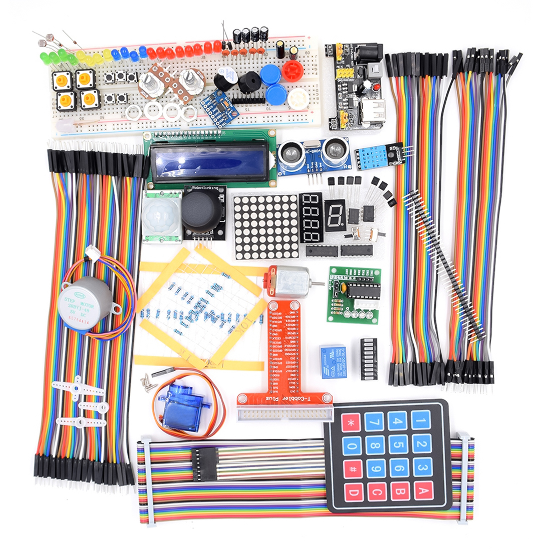 MODIKER Ultimate Learning Kit With LCD1602 Three-axis Accelerometer Sensor Module(ADXL345) For Raspberry Pi Programmable Toys